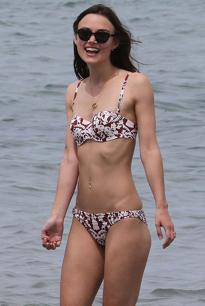 Really. agree keira knightley swimsuit doesn't matter!