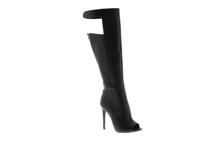 "Boots, $330, Tony Bianco, <a href=""http://tonybianco.com.au"">tonybianco.com.au</a>"