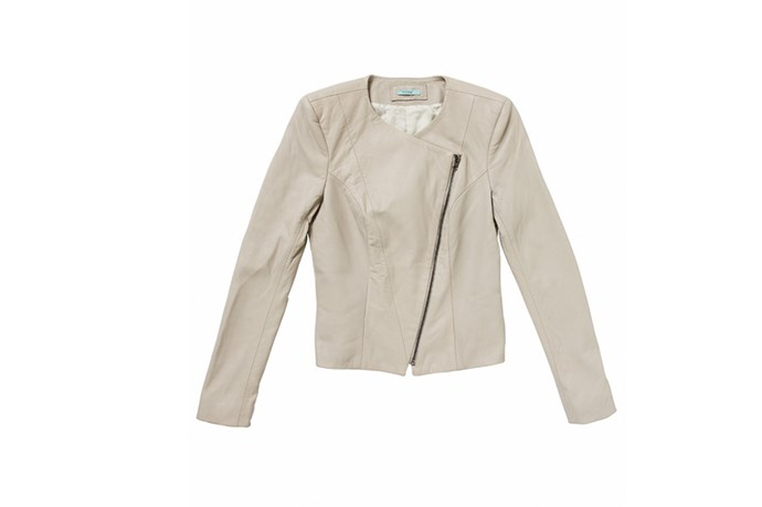 Jacket, $460, Kookai, (03) 9804 7906