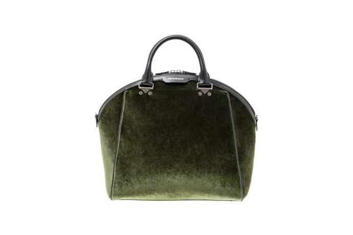 Bag, $1,365, Emporio Armani, (02) 8233 5858