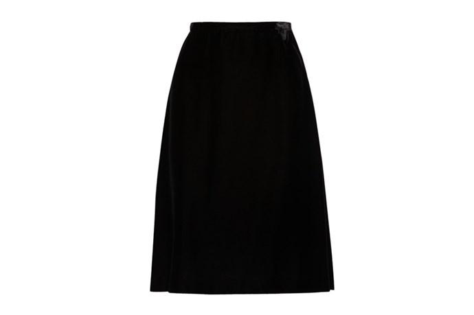 "Skirt, $917, Rochas, <a href=""http://stylebop.com"">stylebop.com</a>"