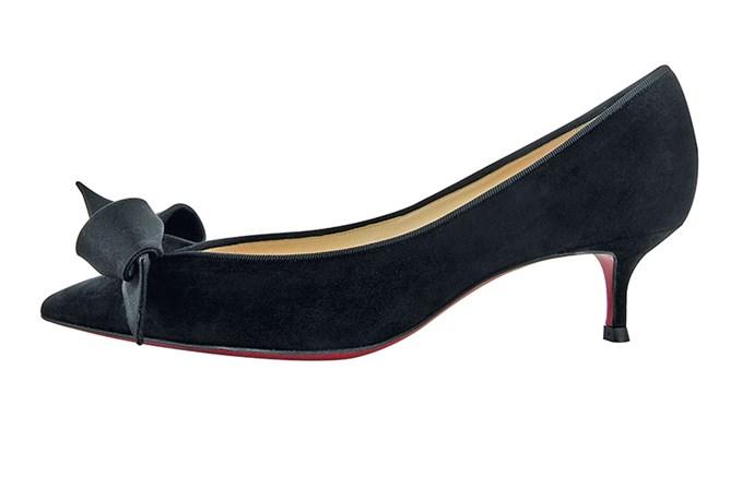 Heels, $1,165, Christian Louboutin, (02) 8203 0902