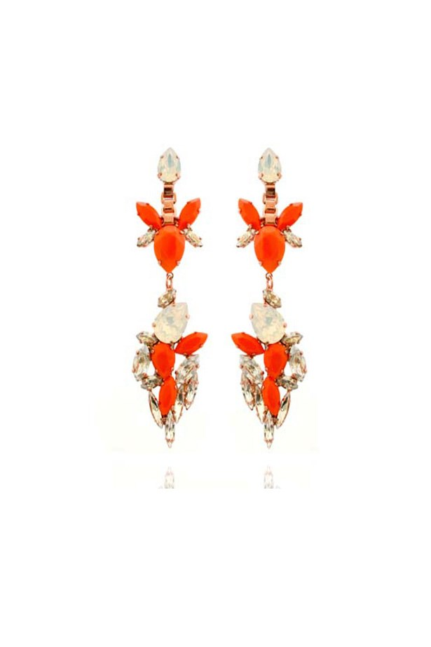 "Earrings, $369, House of Emmanuele, <a href=""http://www.houseofemmanuele.com"">houseofemmanuele.com</a>"