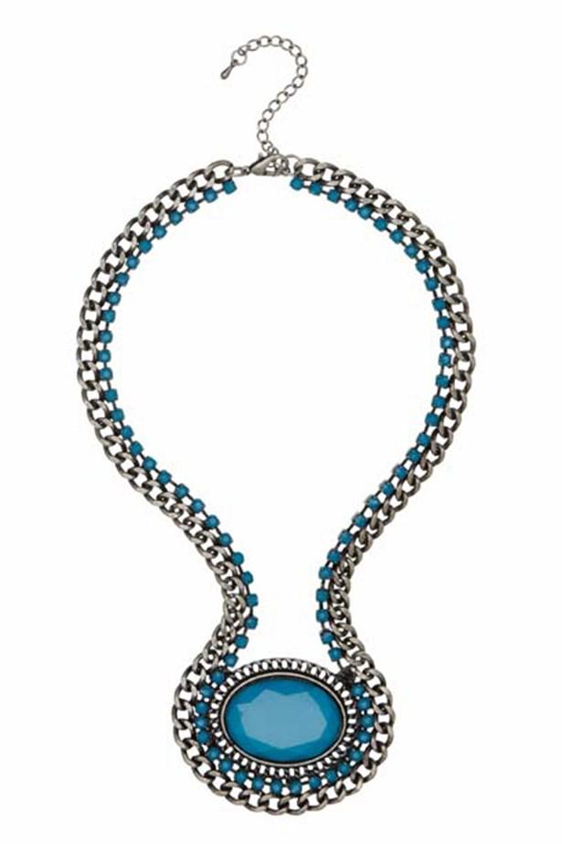 """Necklace, $29.95, Sportsgirl, <a href=""""http://www.sportsgirl.com.au"""">sportsgirl.com.au</a>"""