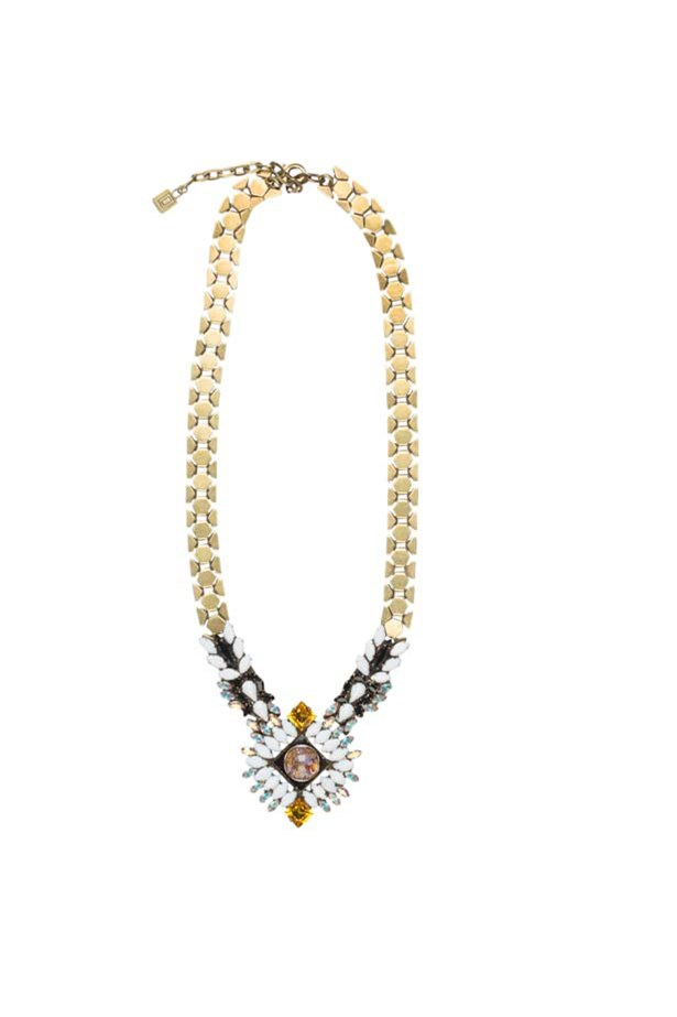 "Necklace, $682, DanniJo, <a href=""http://www.gracemelbourne.com.au"">gracemelbourne.com.au</a>"