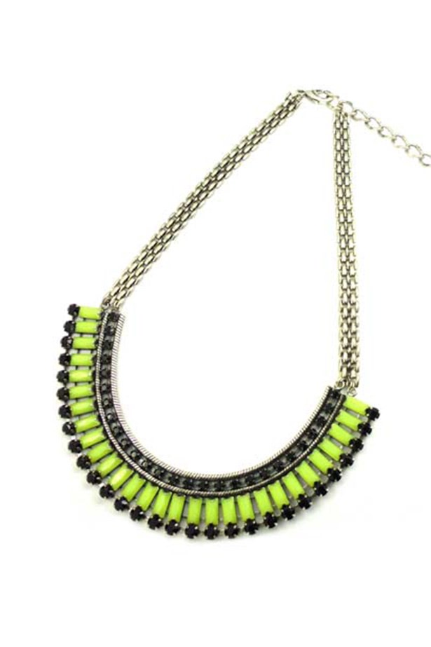 "Necklace, $129, Tilkah, <a href=""http://www.tilkah.com.au"">tilkah.com.au</a>"