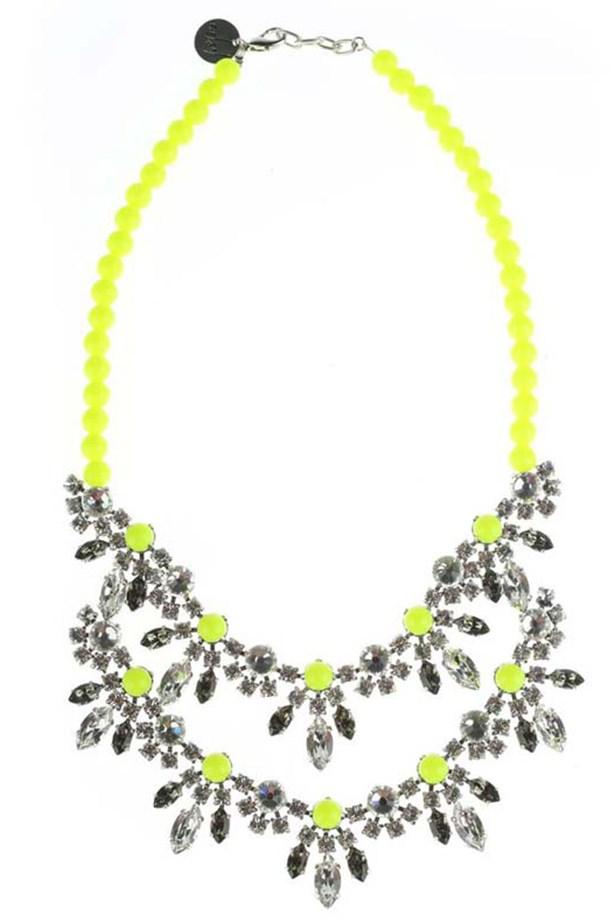 """Necklace, $385, Fiel Sol, <a href=""""http://www.thedarkhorse.com.au"""">thedarkhorse.com.au</a>"""