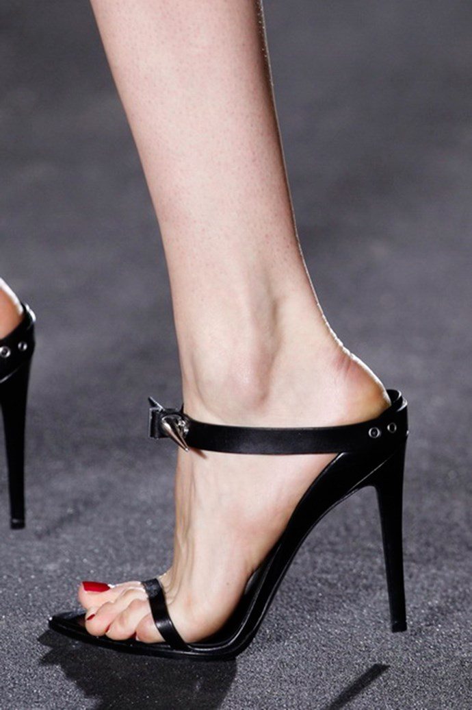 Anthony Vaccarello shoes autumn/winter 13-14