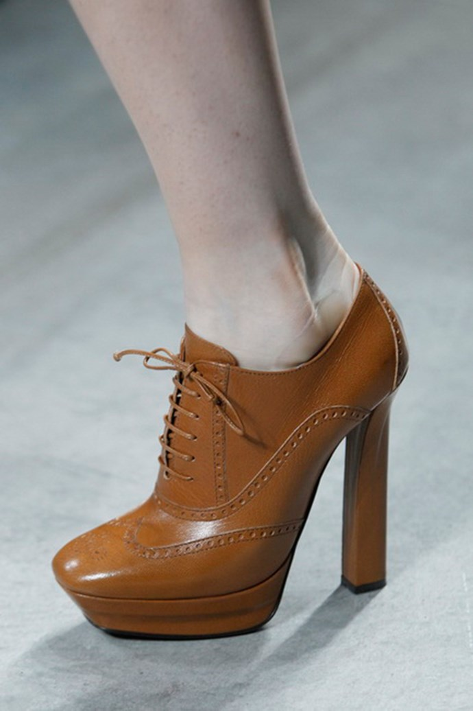 Bottega Veneta shoes autumn/winter 2013