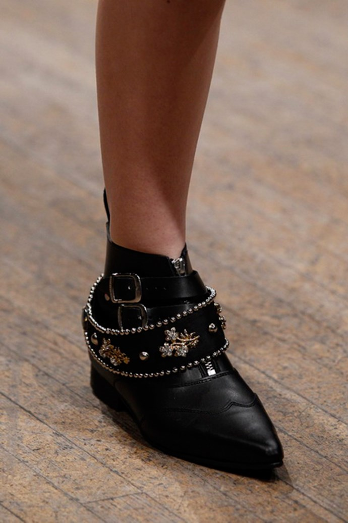 Clements Ribeiro shoes autumn/winter 2013