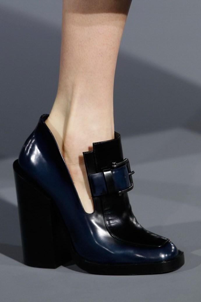 Jil Sander shoes autumn/winter 2013