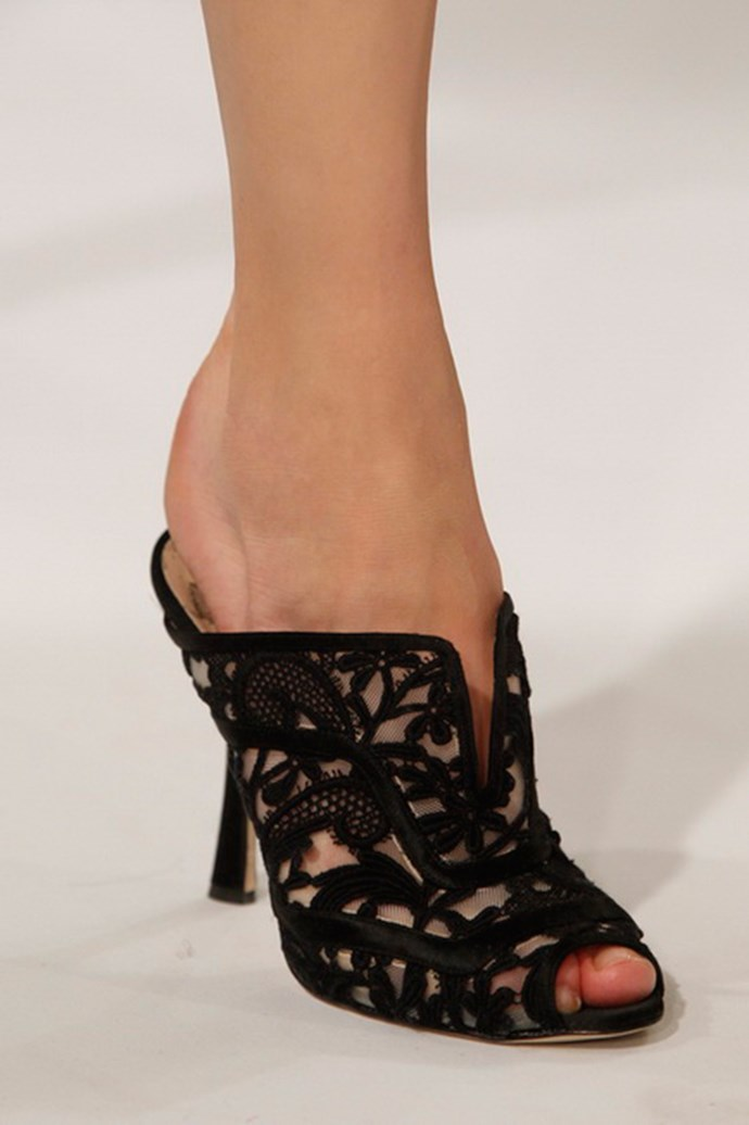 Oscar de la Renta shoes autumn/winter 2013