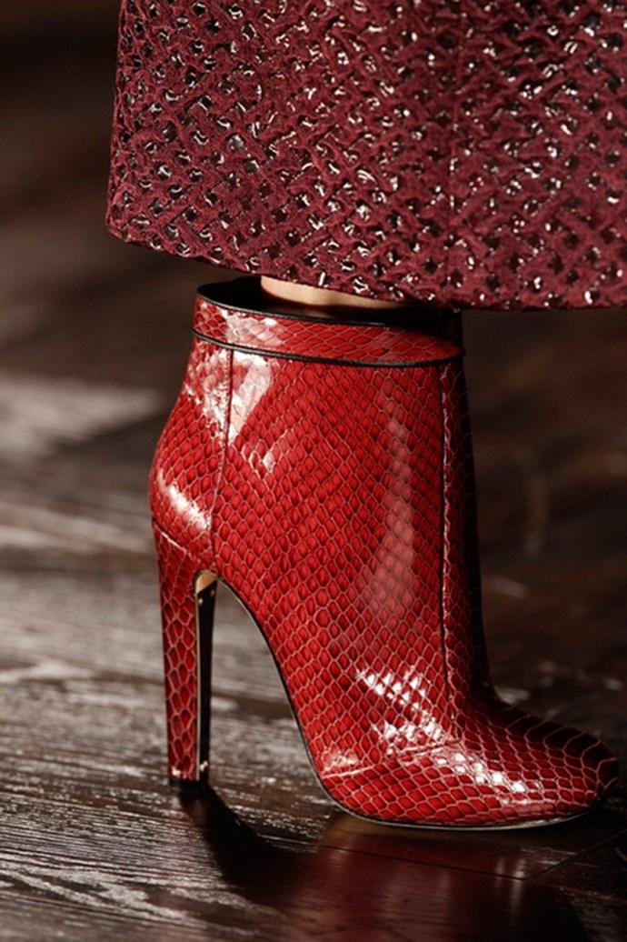 Marios Schwab shoes autumn/winter 2013
