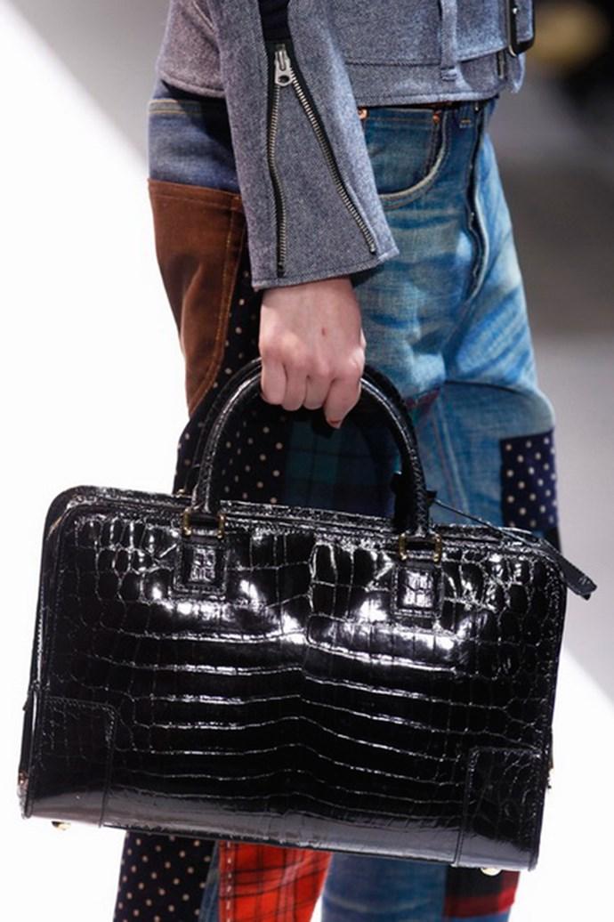 Junya Watanabe handbag autumn/winter 2013