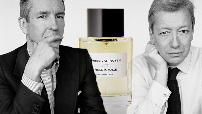 Dries Van Noten joins forces with perfume master Frederic Malle