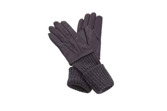 "Gloves, $85, Coussinet, <a href=""http://coussinet.myshopify.com"">coussinet.myshopify.com</a>"