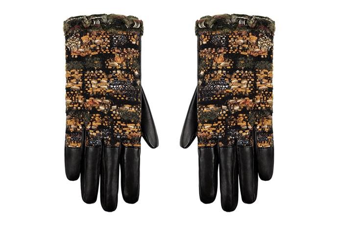 Gloves, $1,290, Chanel, 1300 242 635