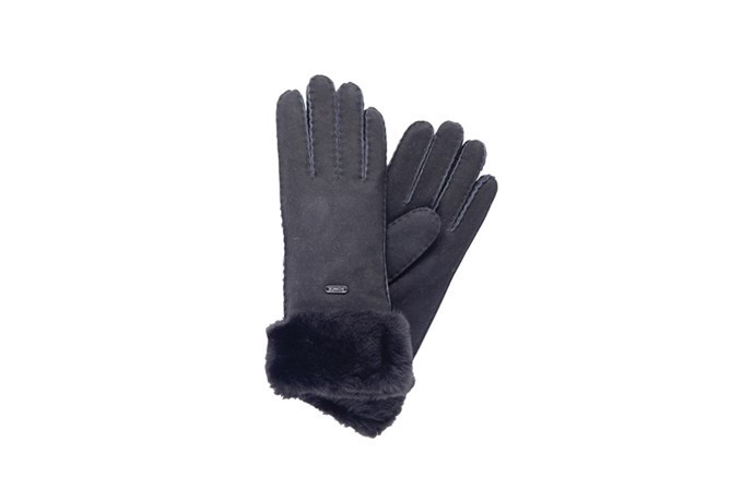 """Gloves, $140, Emu Australia, <a href=""""http://emuaustralia.com"""">emuaustralia.com</a>"""