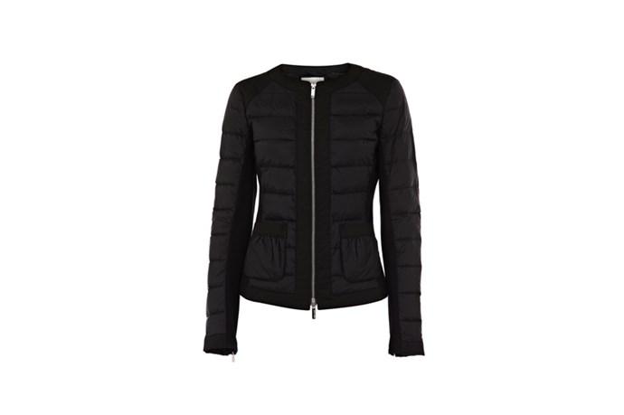 "Jacket, $395, Karen Millen, <a href=""http://karenmillen.com.au"">karenmillen.com.au</a>"