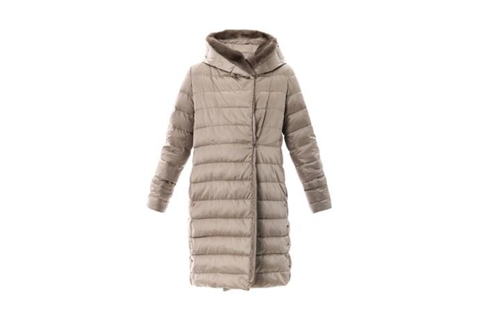 """Coat, $2,455, Max Mara, <a href=""""http://matchesfashion.com"""">matchesfashion.com</a>"""