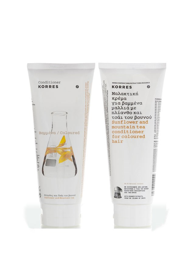 <strong>FOR COLOUR-TREATED HAIR</strong>: With mountain tea from the Greek island of Crete, this colour protecting, moisturising mask repairs chemically treated hair. <em>Sunflower and Mountain Tea Hair Mask, $26.95, Korres, meccacosmetica.com.au</em>