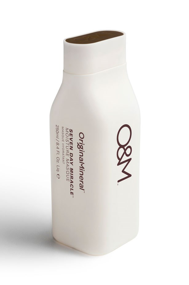 <strong>ALL NATURAL</strong>: Macadamia seed oil and cold-pressed certified organic Australian argan oil will transform damaged hair into soft, silky strands. <em>Seven Day Miracle Moisture Masque, $31.95, Original Mineral, originalmineral.com</em>