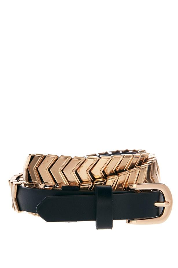 """Belt, $38.54, ASOS, <a href=""""http://www.asos.com/au"""">asos.com/au </a>"""