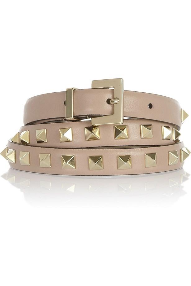 """Belt, $424, Valentino, <a href=""""http://www.net-a-porter.com"""">net-a-porter.com</a>"""