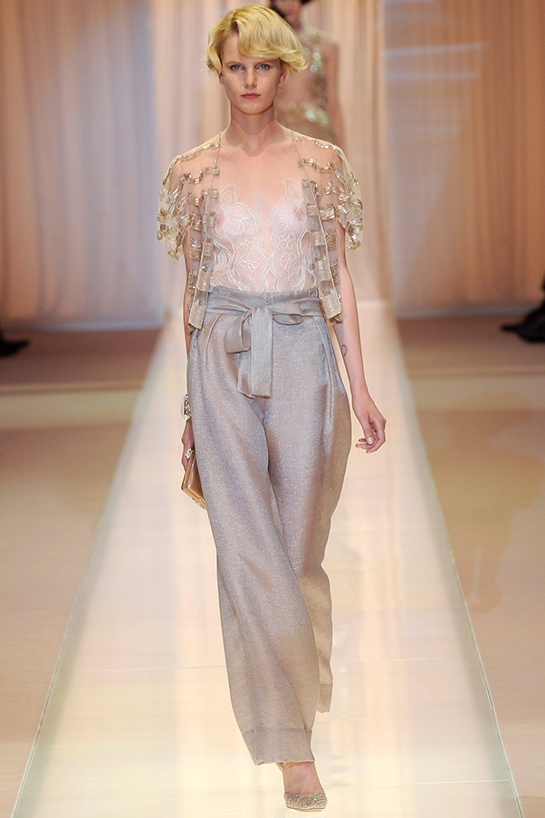 Aussie and Kiwi models dominate during the Couture Autumn Winter shows