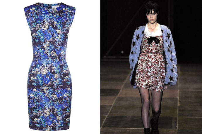 "Dress, $473, Rebecca Vallance, <a href=""http://rebeccavallance.com"">rebeccavallance.com</a>"