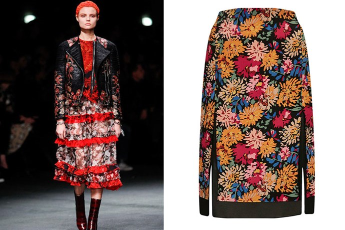 """Skirt, $62, Topshop, <a href=""""http://topshop.com"""">topshop.com </a>"""