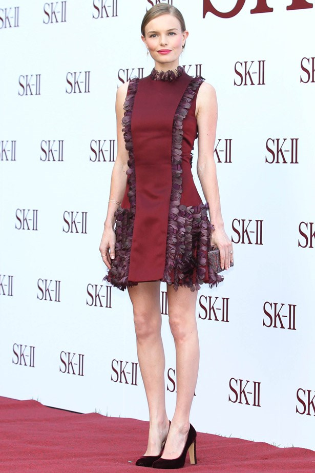 Kate Bosworth looks so fly in this Christopher Kane ensemble.