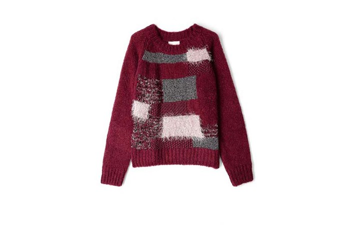 "Sweater, $231 Ganni, <a href=""http://www.matchesfashion.com"">matchesfashion.com</a>"