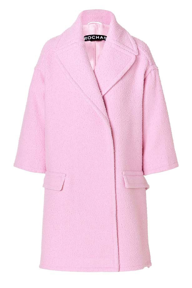 """Coat, $1,586, Rochas, <a href=""""http://www.stlyebop.com"""">stlyebop.com</a>"""