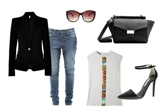 The black blazer: day look