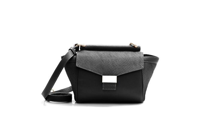 """Bag, $179, Marcs, <a href=""""http://www.marcs.com.au"""">marcs.com.au</a>"""