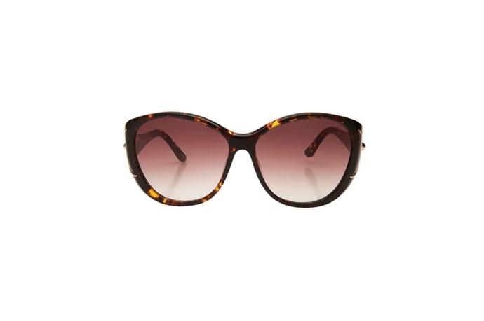 """Sunglasses, $179, Mimco, <a href=""""http://www.mimco.com.au"""">mimco.com.au</a>"""