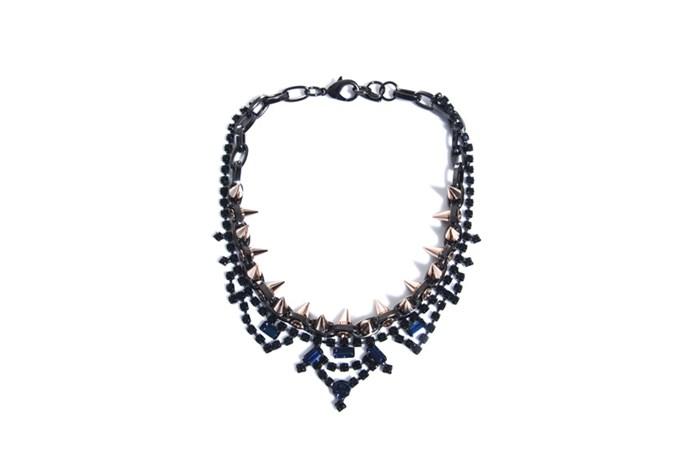 "Necklace, $565, Joomi Lim,<a href=""http://www.matchesfashion.com""> matchesfashion.com</a>"