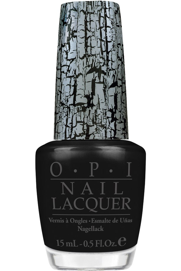 <strong>Gothic grab</strong><br> Be a rebel-with-a-cause and dip in to the dark nail polish trend and channel Uma Thurman's character Mia Wallace in <em>Pulp Fiction</em>.<br> <em>Shatter Top Coat in Black Shatter, $19.95, OPI, opi.net.au</em>