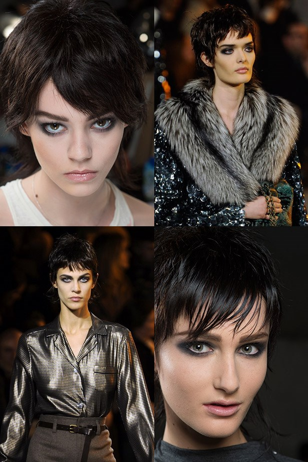 <strong>High brow </strong><br> Strike the perfect balance between thickness and grooming to master the Cher Horowitz (aka Alicia Silverstone) eyebrow. <br> <em>Runway: Marc Jacobs AW13-14</em>