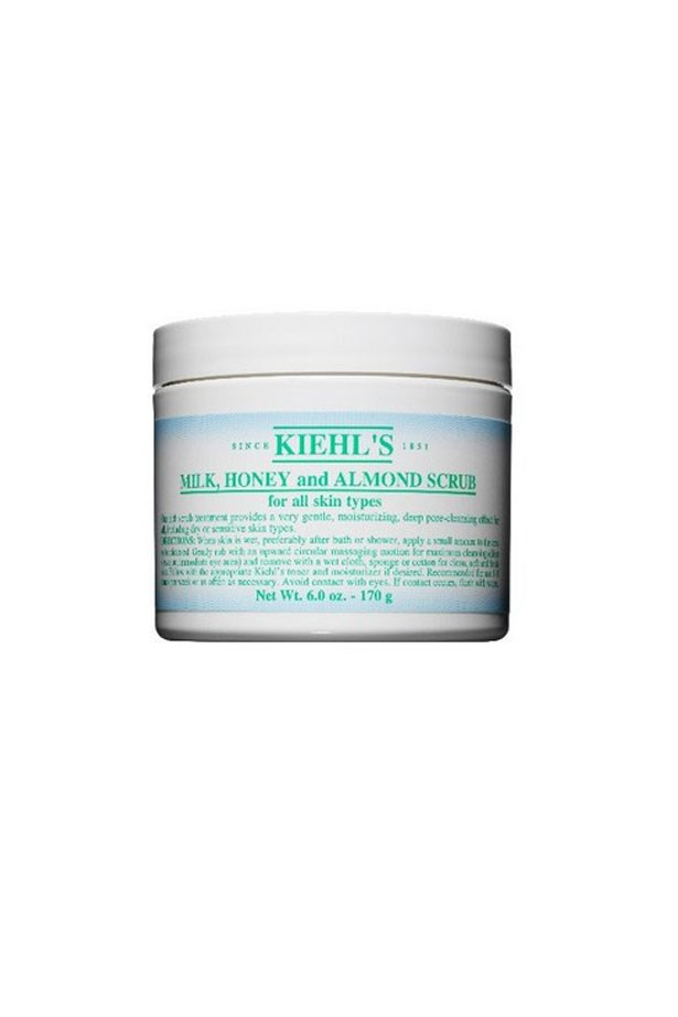 "Head to toe: A rich, non-drying exfoliator that's gentle enough to use on the face, too. Milk, Honey and Almond Scrub, $40, Kiehl's, <a href=""http://www.kiehls.com.au"">kiehls.com.au</a>"