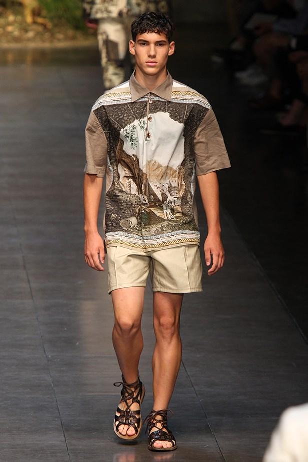 Dolce & Gabbana Menswear SS14