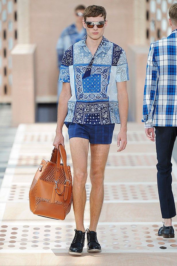 Louis Vuitton Menswear SS14