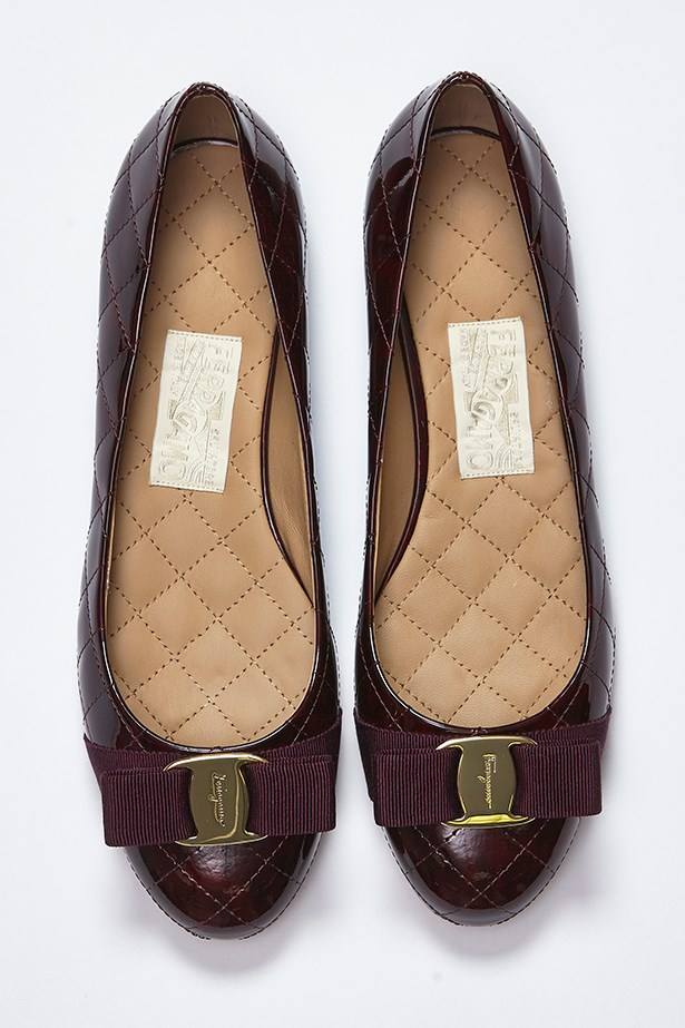 Flats, $690, Salvatore Ferragamo, 1300 095 224