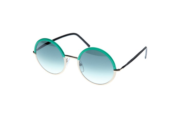 "Sunglasses, $479, Cutler & Gross, <a href=""http://www.onepointsevenfour.com"">onepointsevenfour.com</a>"