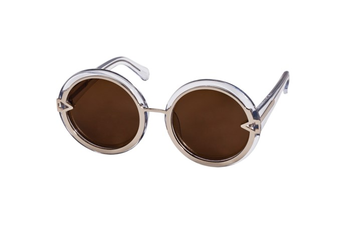 Sunglasses, $329, Karen Walker, (02) 8303 7300