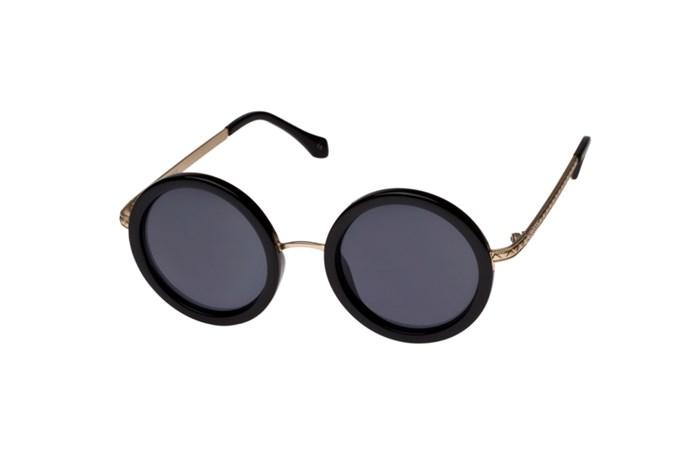"Sunglasses, $69, Le Specs, <a href=""http://www.lesspecs.com.au"">lesspecs.com.au</a>"