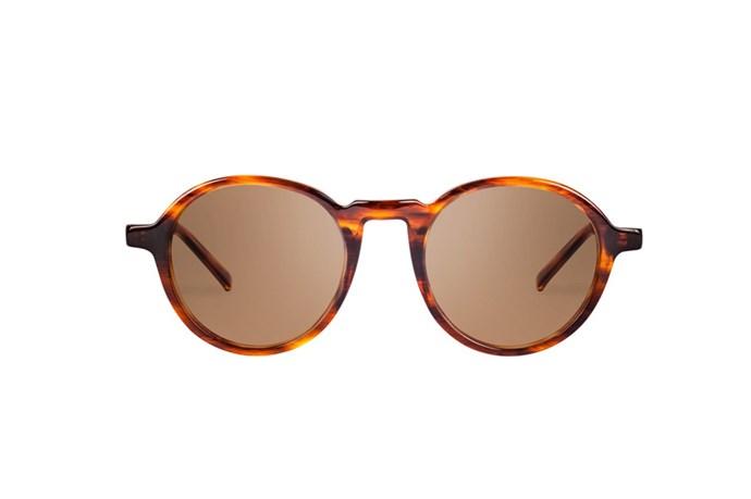 """Sunglasses, $479, Oscar Wylee, <a href=""""http://www.onepointsevenfour.com"""">onepointsevenfour.com</a>"""