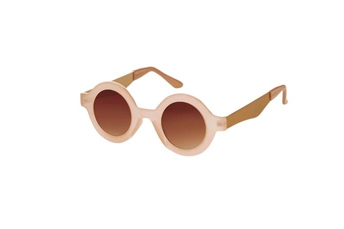 """Sunglasses, $25, Topshop, <a href=""""http://www.topshop.com"""">topshop.com</a>"""