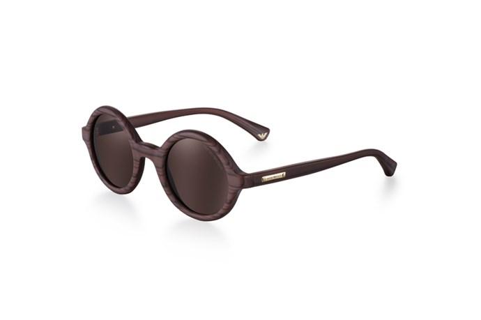 """Sunglasses, $210, Emporio Armani, <a href=""""http://www.sunglasshut.com.au"""">sunglasshut.com.au</a>"""
